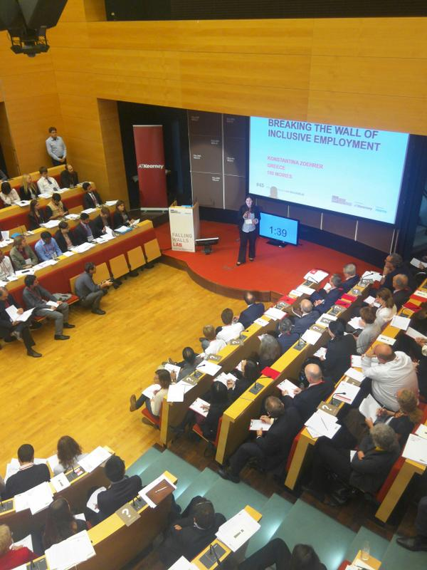 Breaking the Wall of Inclusive Employment – Falling Walls Lab Berlin 2014